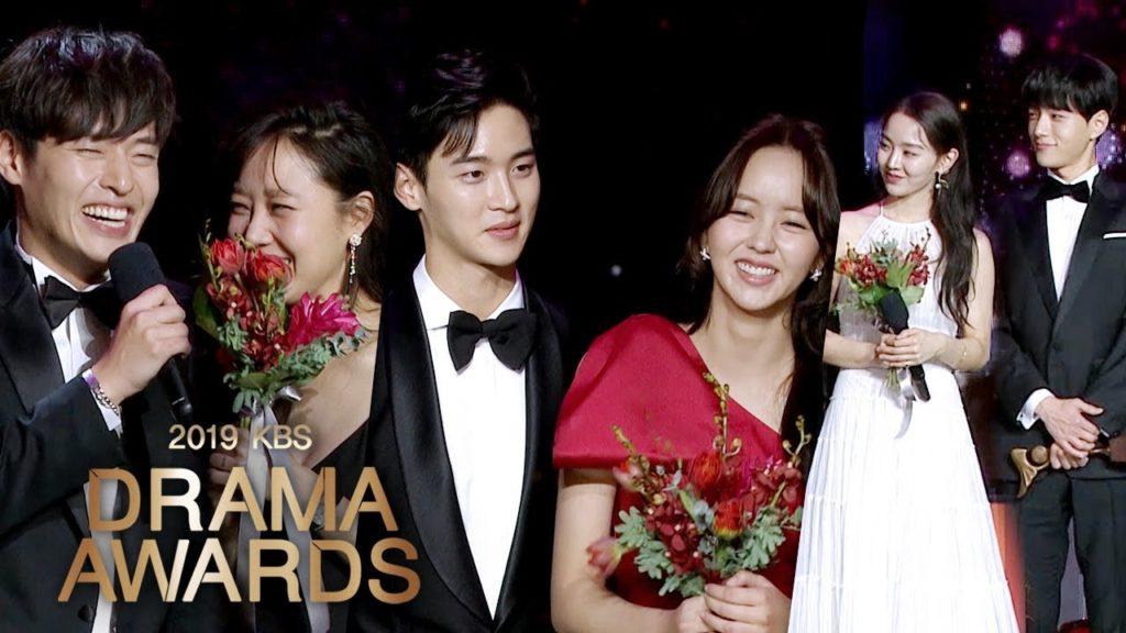 『KBS演技大賞2020』大賞はチョン・ホジンが受賞!過去の受賞結果も!